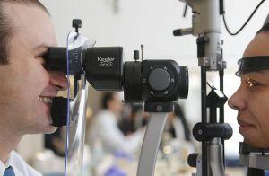 Lesões e doenças na córnea são a terceira maior causa global de deficiência visual — Foto: Jonathan Campos