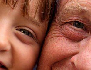 olhos adulto e crianca