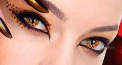 Qual é a melhor lente de contato para usar no Carnaval?